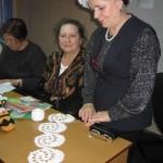 Результаты творчества волонтеров (На фото: Андронова Г.Н., Старова В.М., Королева А.Т.)