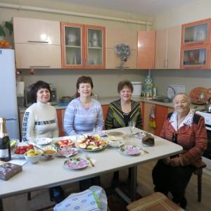 Посещение на дому 95-летней мамы участницы программ Фонда Голосовой Людмилы Вячеславовны.