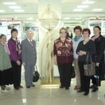 Посещение волонтерами фонда Лермонтовской библиотеки
